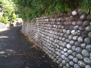 玉石垣の道