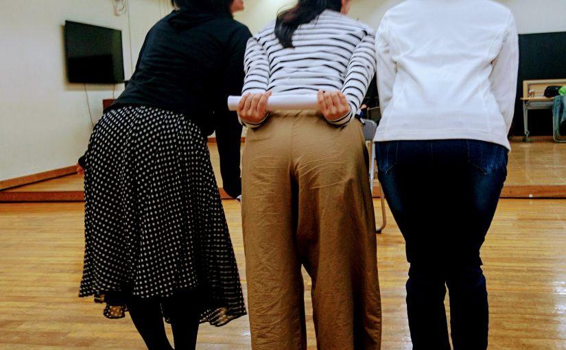 稽古場まわり 劇団ひまわり『追復曲《カノン》~「組曲」より~』の稽古場に行ってきました。